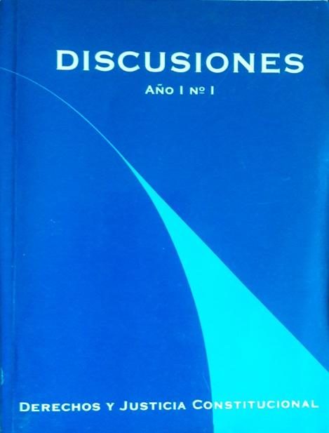 Ver Vol. 1 (2000): Derechos y Justicia Constitucional