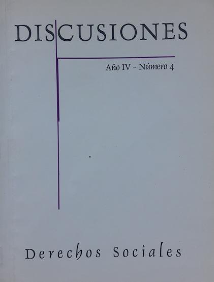 Ver Vol. 4 (2004): Derechos Sociales