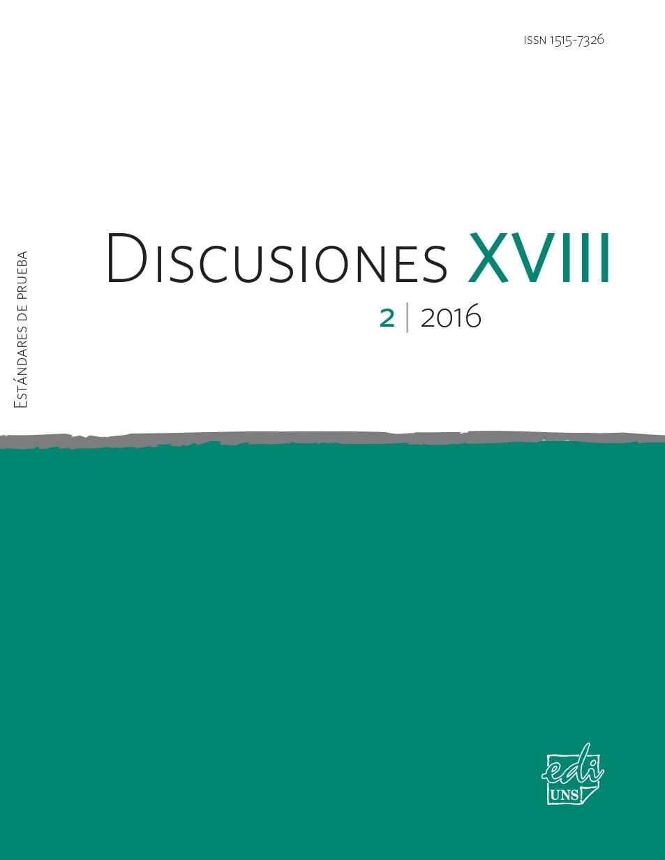 Ver Vol. 18 Núm. 2 (2016): Estándares de prueba