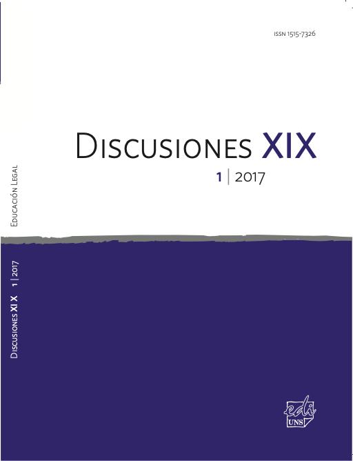 Ver Vol. 19 Núm. 1 (2017): Enseñanza del derecho