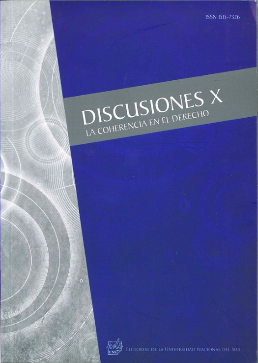 Ver Vol. 10 (2011): La coherencia en el Derecho